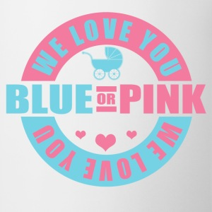 Blue Or Pink We Love You Women's T-Shirts - Coffee/Tea Mug