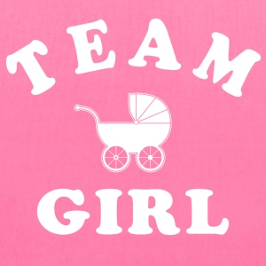team girl Women's T-Shirts - Tote Bag