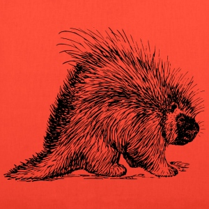 porcupine rodent - Tote Bag