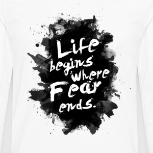 life_fear - Men's Premium Long Sleeve T-Shirt