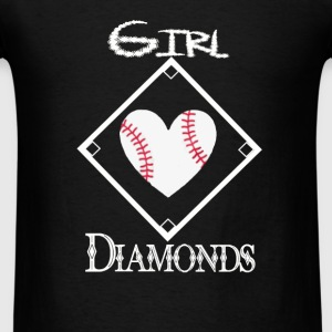 Girls Love Diamonds - Men's T-Shirt