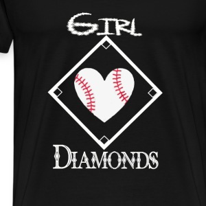 Girls Love Diamonds - Men's Premium T-Shirt