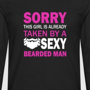 Taken By Sexy Bearded Man - Men's Premium Long Sleeve T-Shirt