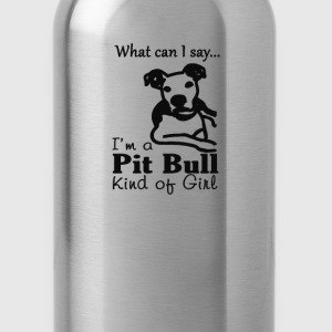 Pit Bull Kind of Girl - Water Bottle