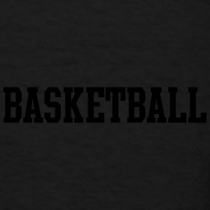 Basketball Classical Sport Font Caps - Men's T-Shirt