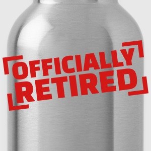 Officially retired T-Shirts - Water Bottle