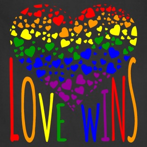 Love Wins Equality Tees Bags & backpacks - Adjustable Apron