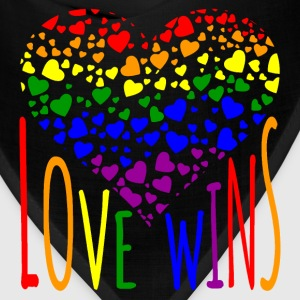 Love Wins Equality Tees Bags & backpacks - Bandana