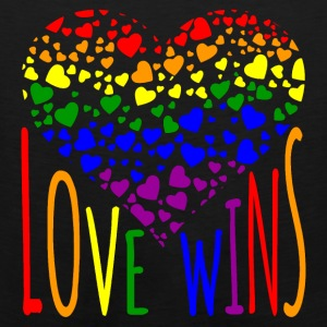 Love Wins Equality Tees Bags & backpacks - Men's Premium Tank