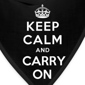 Keep Calm And Carry On T-Shirts - Bandana
