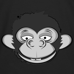 a smiling monkey face Hoodies - Men's Premium Long Sleeve T-Shirt