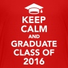 Keep calm and graduate class of 2016 Kids' Shirts - Kids' Premium T-Shirt
