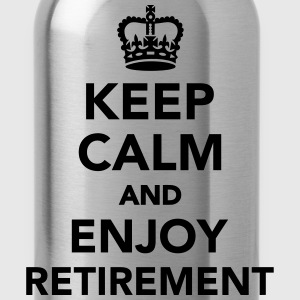Keep calm and enjoy Retirement Kids' Shirts - Water Bottle