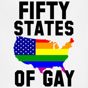 Fifty States of Gay Hoodies - Adjustable Apron