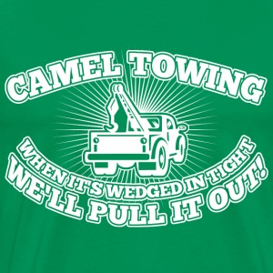 Camel Towing When Its Wedged In The Tight - Men's Premium T-Shirt