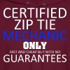 Certified Zip Tie Mechanic Only Fast And Cheap - Men's Hoodie