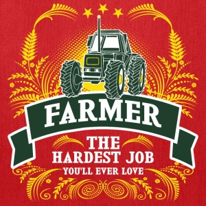 Farmer The Hardest Job You Will Ever Love - Tote Bag