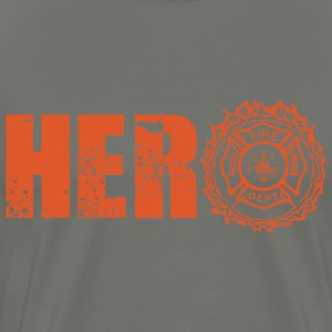 Hero Firefighter - Men's Premium T-Shirt