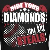 Hide Your Diamonds My Kid Steals - Men's Long Sleeve T-Shirt by Next Level