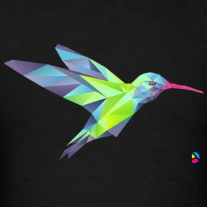AD Geometric Hummingbird Sweatshirts - Men's T-Shirt