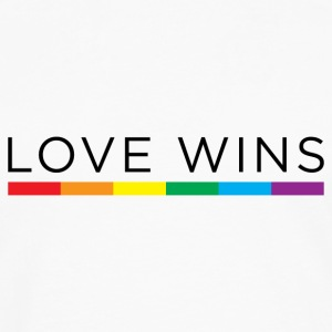 Love Wins Baby & Toddler Shirts - Men's Premium Long Sleeve T-Shirt