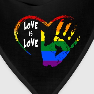 love is love Women's T-Shirts - Bandana