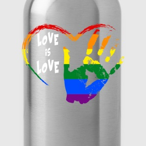 love is love Women's T-Shirts - Water Bottle