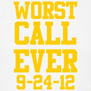 Packers Worst Football Call Ever Long Sleeve Shirts - Men's T-Shirt