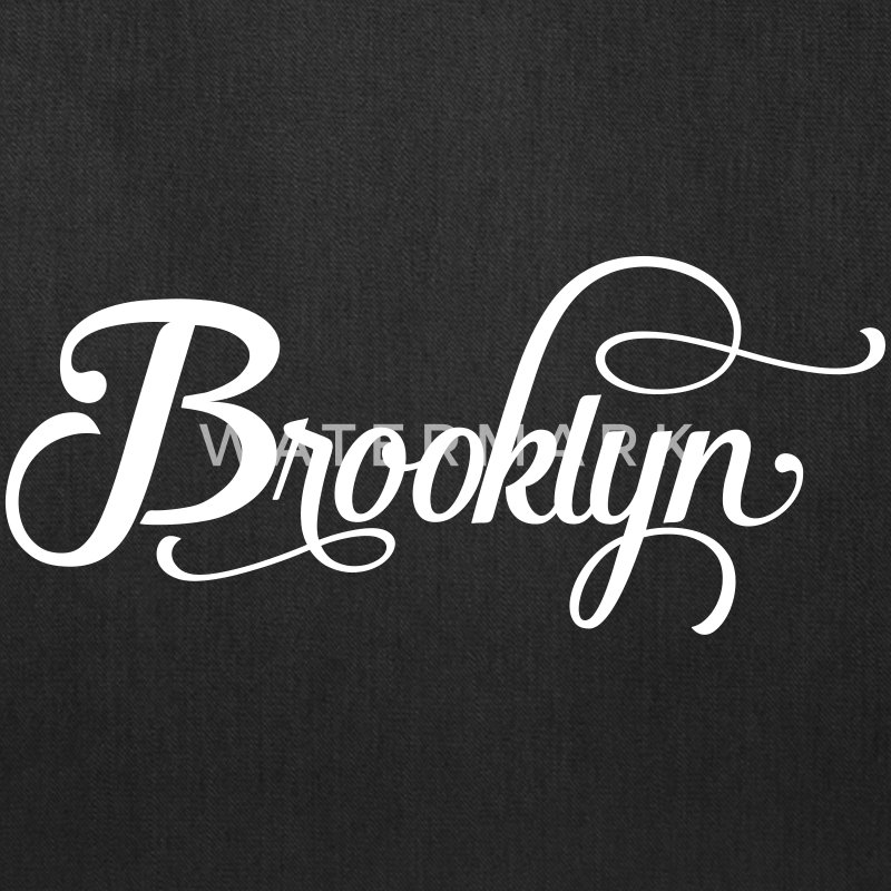 brooklyn typography Bags & backpacks - Tote Bag