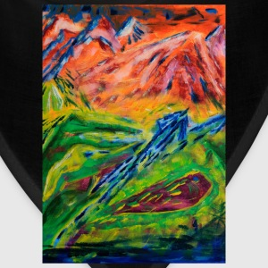 Realm of Fire Painting by Jason Gallant Women's T-Shirts - Bandana