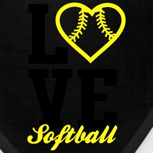 Love Softball Tanks - Bandana