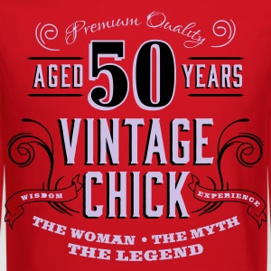 50th Vintage Chick - Crewneck Sweatshirt