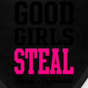 Softball Good Girls Steal Women's T-Shirts - Bandana