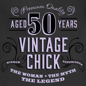 50th Vintage Chick - Adjustable Apron