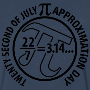 Pi Approximation Day - Men's Premium Long Sleeve T-Shirt