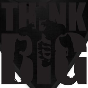Think Big - Bodybuilding Motivation Tank Tops - Bandana