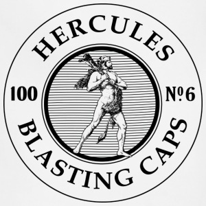 Hercules Blasting Caps T-Shirts - Adjustable Apron