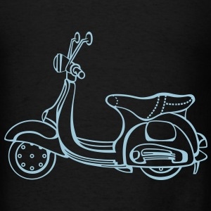 Pretty in Pink Vespa - Men's T-Shirt