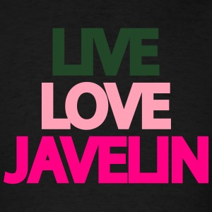 Live Love Javelin Tanks - Men's T-Shirt