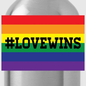 love wins Women's T-Shirts - Water Bottle