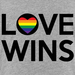 love wins Kids' Shirts - Toddler Premium T-Shirt