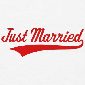 Just Married (Marriage / Wedding) Caps - Men's T-Shirt