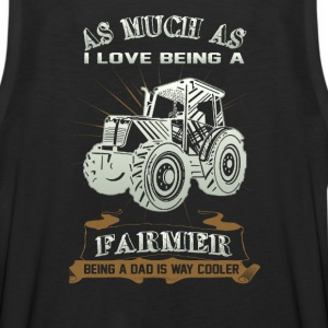 Being a Farmer and being a Dad - Men's Premium Tank