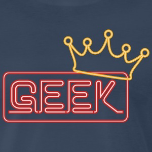Geek Neon Tank Tops - Men's Premium T-Shirt