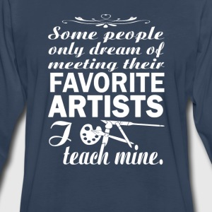 Art Teacher - Men's Premium Long Sleeve T-Shirt