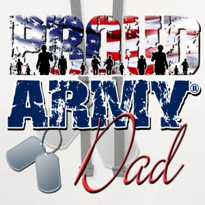 Proud Army Dad T-Shirts - Contrast Hoodie
