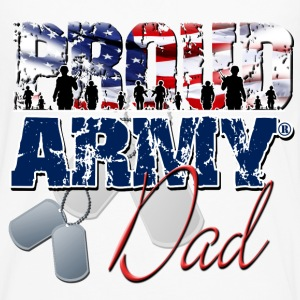 Proud Army Dad Women's T-Shirts - Men's Premium Long Sleeve T-Shirt