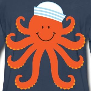 Octopus Sailor Nautical Kids' Shirts - Men's Premium Long Sleeve T-Shirt