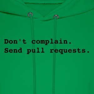 Send pull requests T-Shirts - Men's Hoodie
