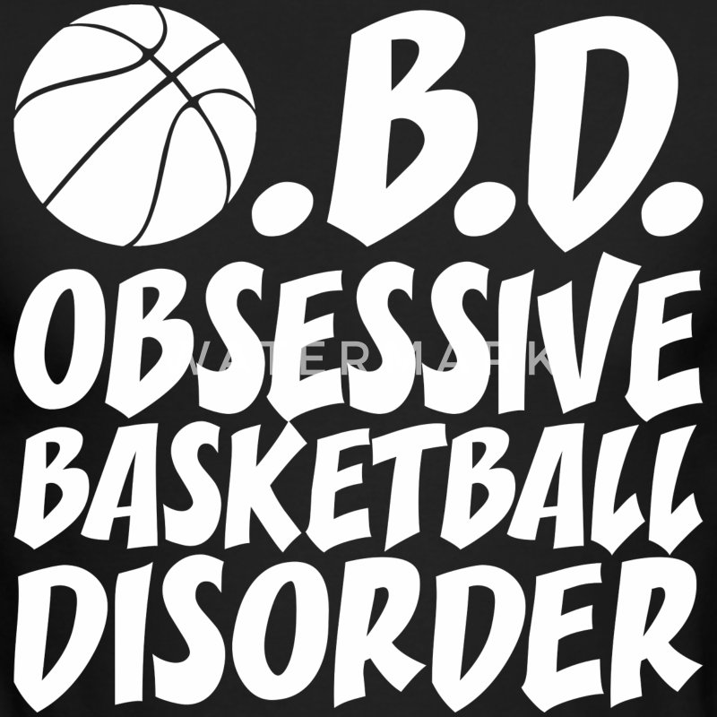 OBD Obsessive Basketball Disorder - Men's Long Sleeve T-Shirt by Next Level